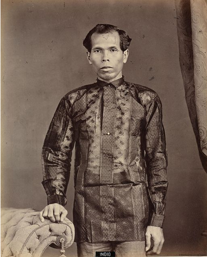 The Dark Colored barong in 1870