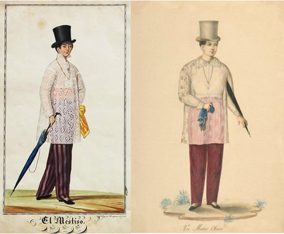 The Long Barong with Ruff Collar in 1841