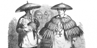The Working Class Commoner Barong in 1855
