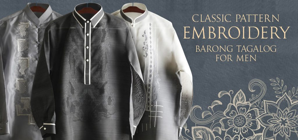 barong tagalog for men philippines