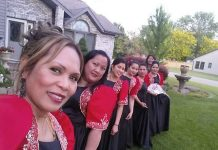 Filipino Folk Dancers