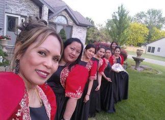 Filipino Folk Dancers