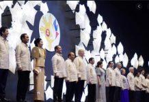 Filipino wear for the 31st ASEAN Summit gala dinner