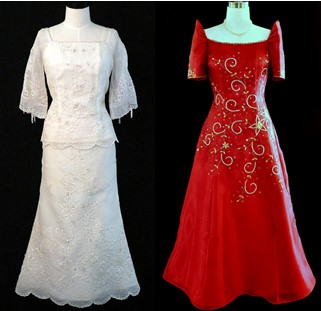 Filipino Wedding Gown