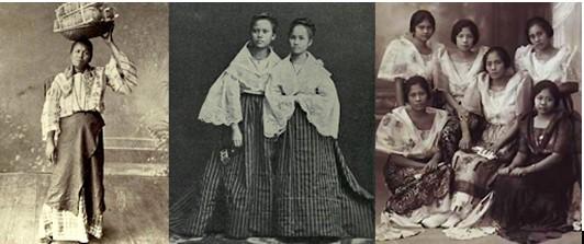 filipiniana attire for female